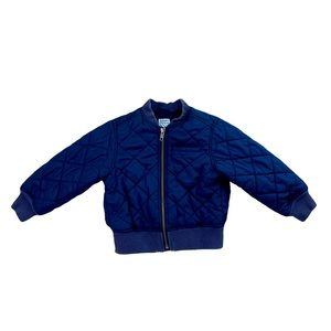 Old Navy Quilted Blue fall winter jacket coat 2T